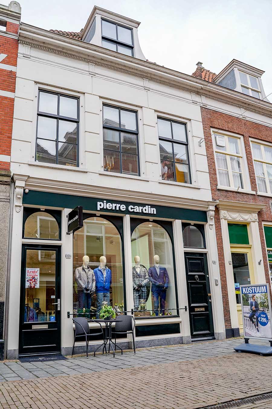 De winkel Pierre Cardin Gorinchem
